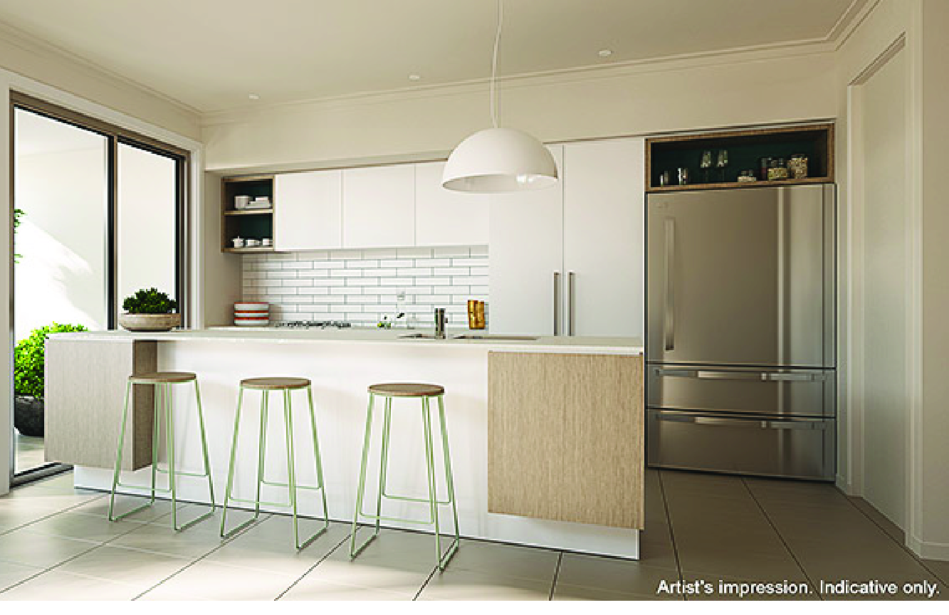 Australand And Arkee Creative Coastal Kitchen