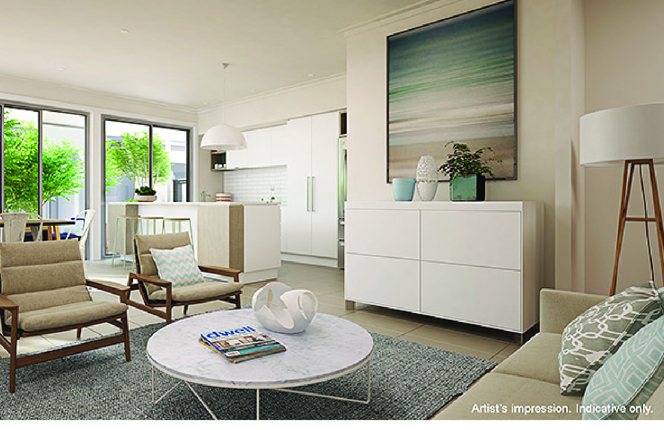 Australand and Arkee Creative Coastal Living Space